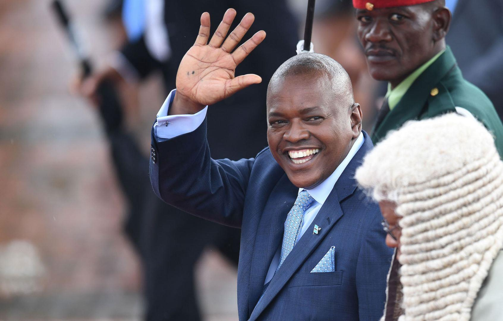 Botswana's president vows to boost small stock production