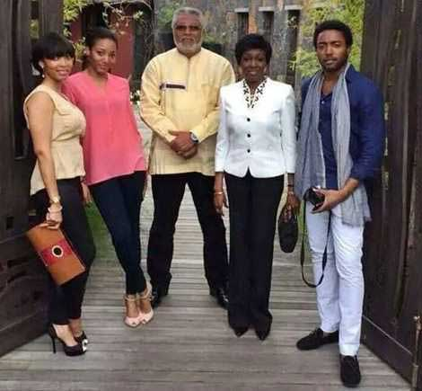 President Rawlings and Family