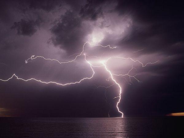 Horror Scenes As Five People Are Struck By Lightning In Zimbabwe