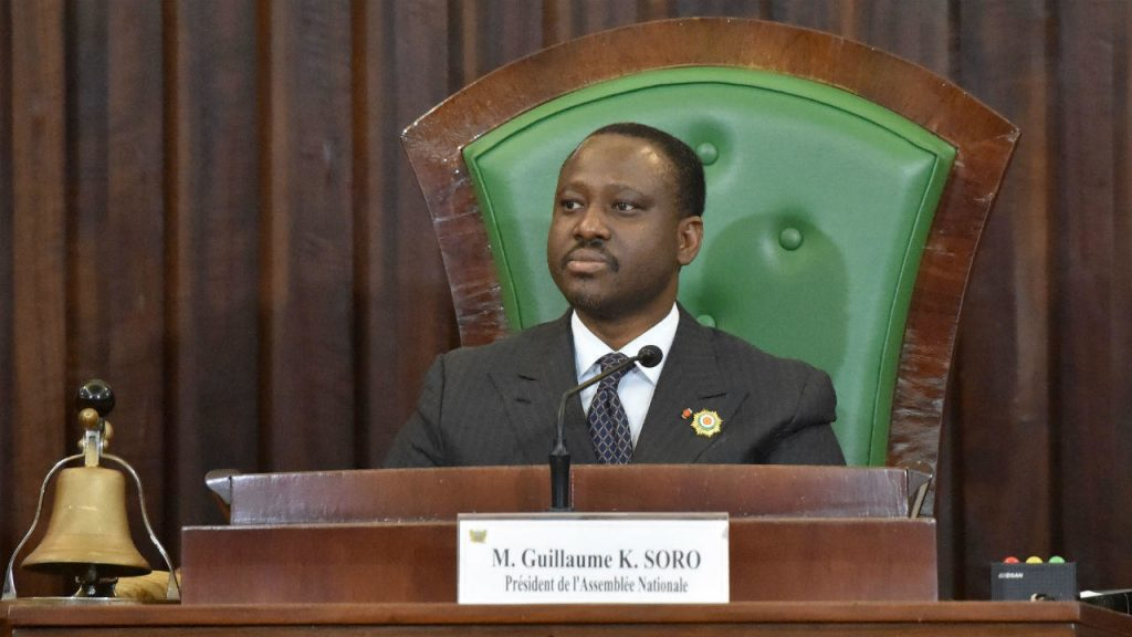 AFP file picture   Guillaume Soro announced his resignation after having been summoned to a special meeting with President Ouattara.